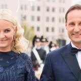 Kronprinsesse Mette-Marit og kronprins Haakon har begge engageret sig i afrikanske studier. Scanpix/Nesvold, Jon Olav