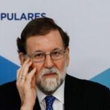 Premierminister Mariano Rajoy understreger, at de nyvalgte politikere i Catalonien må acceptere spansk lov, men så er den spanske premierminister også klar til at søge dialog. Scanpix/Oscar Del Pozo