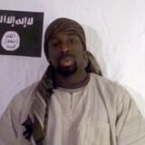Amedy Coulibaly i den over fem minutter lange video offentliggjort i går.