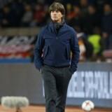 Joachim Löw har som tysk fodboldlandstræner udtaget reserverne i stedet for de store stjerner i tirsdagens testkamp mod Danmark. Reuters/David Mdzinarishvili