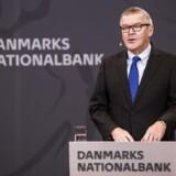 Lars Rohde, nationalbankdirektør holder pressemøde i Nationalbanken i København. (Foto: Ólafur Steinar Gestsson/Scanpix 2016)