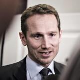 Arkivfoto: Finansminister Kristian Jensen