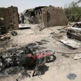 I denne uge døde omkring 250 IS-jihadister under panisk flugt fra kampene i den irakiske by Fallujah, efter at koalitionen og den irakiske hær ramte flere hundrede af terrororganisationens køretøjer.