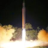Nordkorea bliver nu straffet, som reaktion på flere affyrede missiler i juli.