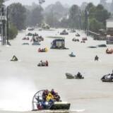 Vandstanden i Houston har nået sit højeste.