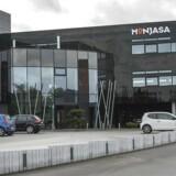 Navneforbud i stor olie-svindelsag ophævet - Monjasa - Oliefirmaet Monjasa hovedsæde Fredericia