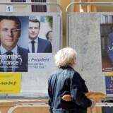 Onsdag aften mødes Emmanuel Macron og Marine Le Pen i en afgørende tv-duel før søndagens franske præsidentvalg