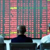 Arkivfoto. De asiatiske aktier viger en anelse onsdag efter en ellers stærk start på ugen. Gevinsthjemtagning er sat ind, da investorerne mangler overbevisende fakta til at fortsætte med at købe risikoaktiver lige inden det amerikanske rentemøde i næste uge.