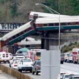Et tog, der mandag forulykkede i Washington, kørte langt hurtigere, end det var tilladt.