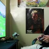 Kampspillet »Fortnite« er på rekordtid blevet et af verdens populæreste onlinespil. Nu hævder en konkurrent imidlertid, at store dele af spillet er kopieret fra deres spil. Arkivfoto: Jillian Kitchener, Reuters/Scanpix