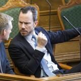 Arkivfoto: Der er klare regler for partistøtte. De skal ikke lempes, mener politisk ordfører Jakob Ellemann-Jensen (V).
