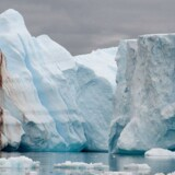 Arkivfoto: Isbjerg ved Antarktis.