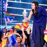 "Jamala fra Ukraine vandt Eurovision med sangen ""1944""."