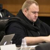 Kim Dotcom, som gennem fem år har kæmpet imod en udlevering til USA, tabte mandag i New Zealands højesteret. Arkivfoto: Nigel Marple, Reuters/Scanpix