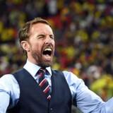 Endelig. Til EM i 1996 blev han syndebuk efter at have brændt et afgørende straffe mod tyskerne. Tirsdag aften stod Gareth Southgate som manager i spidsen for det sejrende engelske landshold, der langt om længe vandt en straffesparkskonkurrence til et VM.