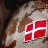 Danske soldater har overværet et overgreb i Irak.