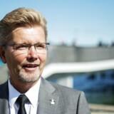 Københavns Overborgmester Frank Jensen glæder sig over, at diesel-busserne på linje 5a skiftes ud med biogas-busser. (Arkiv)