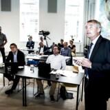 Fredag 18. august 2017 præsenterede Christian Schultz, Konkurrencerådets formand, en ny realkreditrapport for pressen hos Konkurrence- og Forbrugerstyrelsen i København. Blandt de fremmødte var også Morten Bruun Pedersen, seniorøkonom i Forbrugerrådet Tænk.
