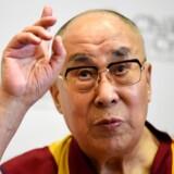 Dalai Lama mener, at flygtninge bør vende hjem igen. REUTERS/Clodagh Kilcoyne