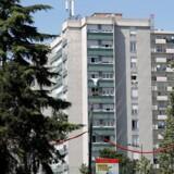 Boligområdet i Saint-Denis, hvor politiet slog til, er berygtet for hashhandel.