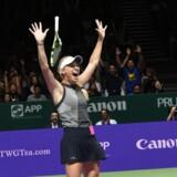 Triumfen i WTA Finals banede vejen for, at Caroline Wozniacki vandt afstemningen meget overbevisende.