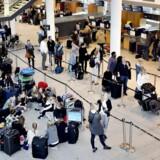 Arkivfoto: En teknisk fejl gjorde, at en alarm i Københavns Lufthavn i Kastrup kortvarigt blev aktiveret.