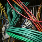 Arkivfoto. På billedet ses en del af den infrastruktur, som udgør den danske del af internettet.