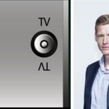 Alle, der har en radio koblet til kabel-TV-nettets radiostik (markeret med »R«), vil nu kun få knas ud af højttalerne, når YouSee slukker for FM-signalet - ifølge YouSee-direktør Jacob Mortensen for at få mere plads til internetforbindelser i kabel-TV-nettet. Fotos: YouSee