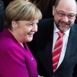 Tysklands konservative kristelige demokrater og socialdemokraterne i SPD ønsker at hæve topskattegrænsen, så de grupper, der tjener mest, opnår skattelettelser. Scanpix/Bernd Von Jutrczenka