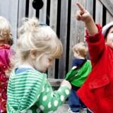 ARKIVFOTO. Det skal være slut med lange ventelister til Københavns institutioner. I stedet skal forældre frit kunne booke en ledig plads.