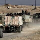 Arkivfoto. I slaget om den vestlige del af Mosul er den irakiske hær ved at kontrollere en nordvestlig hovedvej.