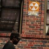 Det er ikke kun på Guam, men også som her i New Yorks gader, at man kan finde beskyttelsesrum mod atomangreb.
