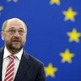 Tysklands socialdemokrater mødes torsdag i Berlin for at diskutere en mulig regeringsdannelse med Angela Merkels CDU. Forud for partikongressen i Berlin har SPD-formand Martin Schulz mindet et skeptisk bagland om socialdemokraternes ansvar for et stabilt Europa.