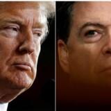 »Jeg har brug for loyalitet, jeg forventer loyalitet,« sagde Donald Trump ifølge James Comey til den nu fyrede FBI-direktør.