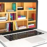 Digitale læremidler - her e-bøger - skal sammen med andre IT-muligheder ud i klasseværelserne og bruges aktivt, og det skal for alvor ske allerede i år, mener Dansk Industri. Arkivfoto: Iris/Scanpix