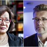 Heidi Wang (LA) har forsøgt at lave en sjov valgplakat, som involverer overborgmester Frank Jensen (S).