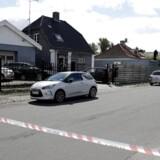 Der er tirsdag formiddag blevet affyret skud i Rødovre. Ifølge politiet er ingen personer ramt.. (Foto: Henrik R. Petersen/Scanpix 2017)