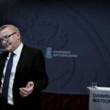 Lars Rohde ved Nationalbankens pressemøde om dansk økonomi onsdag den 14 marts 2018
