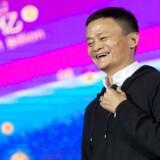 Alibaba har underskrevet en aftale om at sponsorere de kommende seks udgaver af de Olympiske Lege. På billedet ses Jack Ma der er grundlægger og bestyrelsesformand for Alibaba Group. AFP PHOTO / STR / China OUT