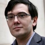 Tidligere chef for blandt andet Turing Pharmaceuticals, der i september 2015 overtog patentet på AIDS-præparatet Daraprim og satte prisen voldsomt op. Foto: Amr Alfiky/Reuters
