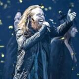 Rasmussen (Jonas Flodager Rasmussen) blev vinder af Dansk Melodi Grand Prix 2018 i Gigantium Aalborg.