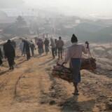 Rohingyaernes hjemsendelse fra Bangladesh til Myanmar trækker i langdrag. Arkivfoto.