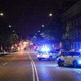 Tirsdag aften var gaderne på Nørrebro igen badet i blå blink.