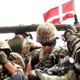 Danske soldater i Irak på vej ind i Basra i august 2006. Arkivfoto: Essam al-Sudani