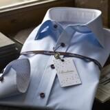 Danske mænd vælger i stigende grad målsyede skjorter. Det handler ikke så meget om pasformen, men mere om, at man selv kan designe alle detaljerne såsom krave og forskellig længde på manchetterne. PR-foto