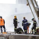 Håbet om at finde flere overlevende efter jordskælvet i Christchurch falder hastigt. Her er det redningsarbejdere i gang med at søge overlevende ved et af de værste bygningskollaps i byen - CTV-bygningen, hvor over 100 frygtes at have mistet livet.