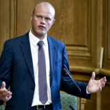 Venstres Peter Christensen i Folketinget i formiddag.