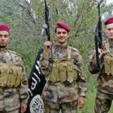 Billedet af Victor Kristensen blev offentliggjort på flere jihadistiske debatfora på internettet den 6. marts.