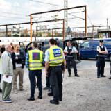 Fredagens store politiopbud på Københavns Hovedbanegård efter en DSB-medarbejder blev meldt overfaldet og bagbundet.