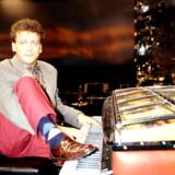 Entertainer, entreprenør og tidligere Melodi Grand Prix-vinder, Anders Frandsen, blev 51 år gammel. Her ses han som vinder ved Dansk Melodi Grand Prix 1991.